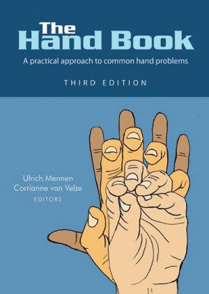 """The Hand Book"" is a book on hand surgery and hand rehabilitation."